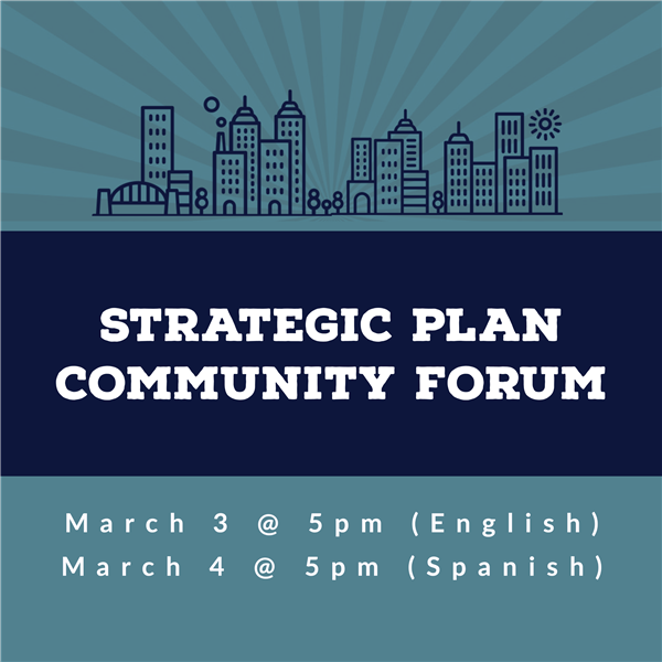 strategic plan community forum
