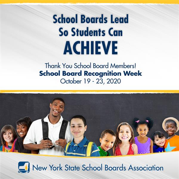School Board Recognition Week Oct. 19–23
